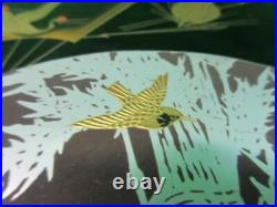 Antique Japanese lacquer Box Jubako with beautiful MAKIE Vintage