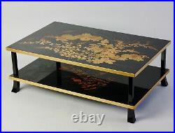 Beautiful Japanese Lacquered Display Table U94
