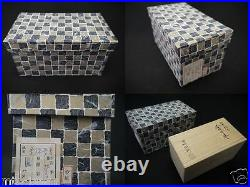 Japan Lacquer Wooden Tea Caddy KINRINJI-Natsume with design in 4 seasons makie J10