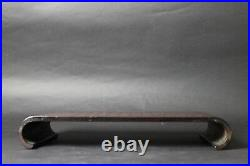 Japanese Old Bamboo lacquering GARDEN TUB BONSAI Flower vase stand JAPAN a632